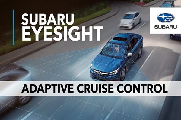 Công nghệ EyeSight giúp giảm áp lực đáng kể cho người cầm lái