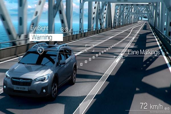 Công nghệ mắt thần EyeSight giúp tránh các mối nguy hiểm có thể gây tai nạn